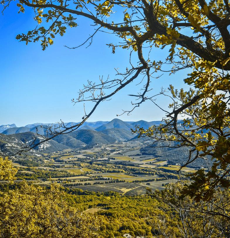 Drome des collines habitat