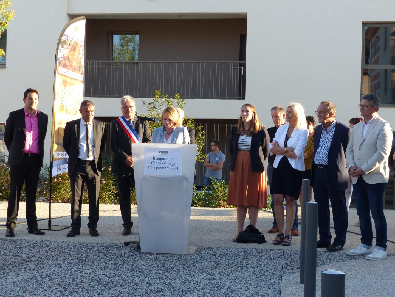 Discours d'Anne-Laure Venel : directrice Drôme Aménagement Habitat