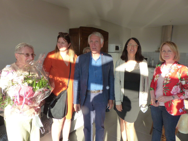 Inauguration résidence Estrella : visite du logement