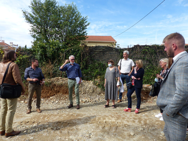 Visite de chantier Résidence TILIA à St-Marcel-lès-Valence