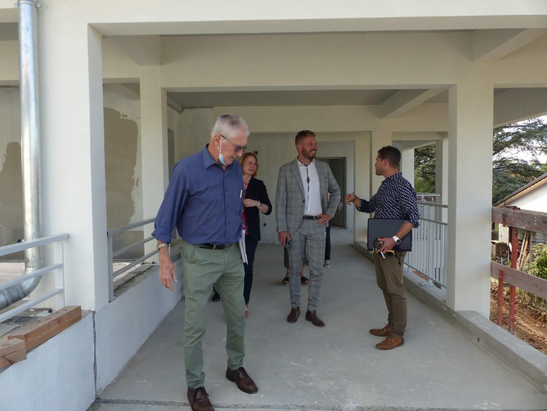 Visite de logement Aurélien Esprit (Président de DAH) et Anne-Laure Venel (directrice générale de DAH)
